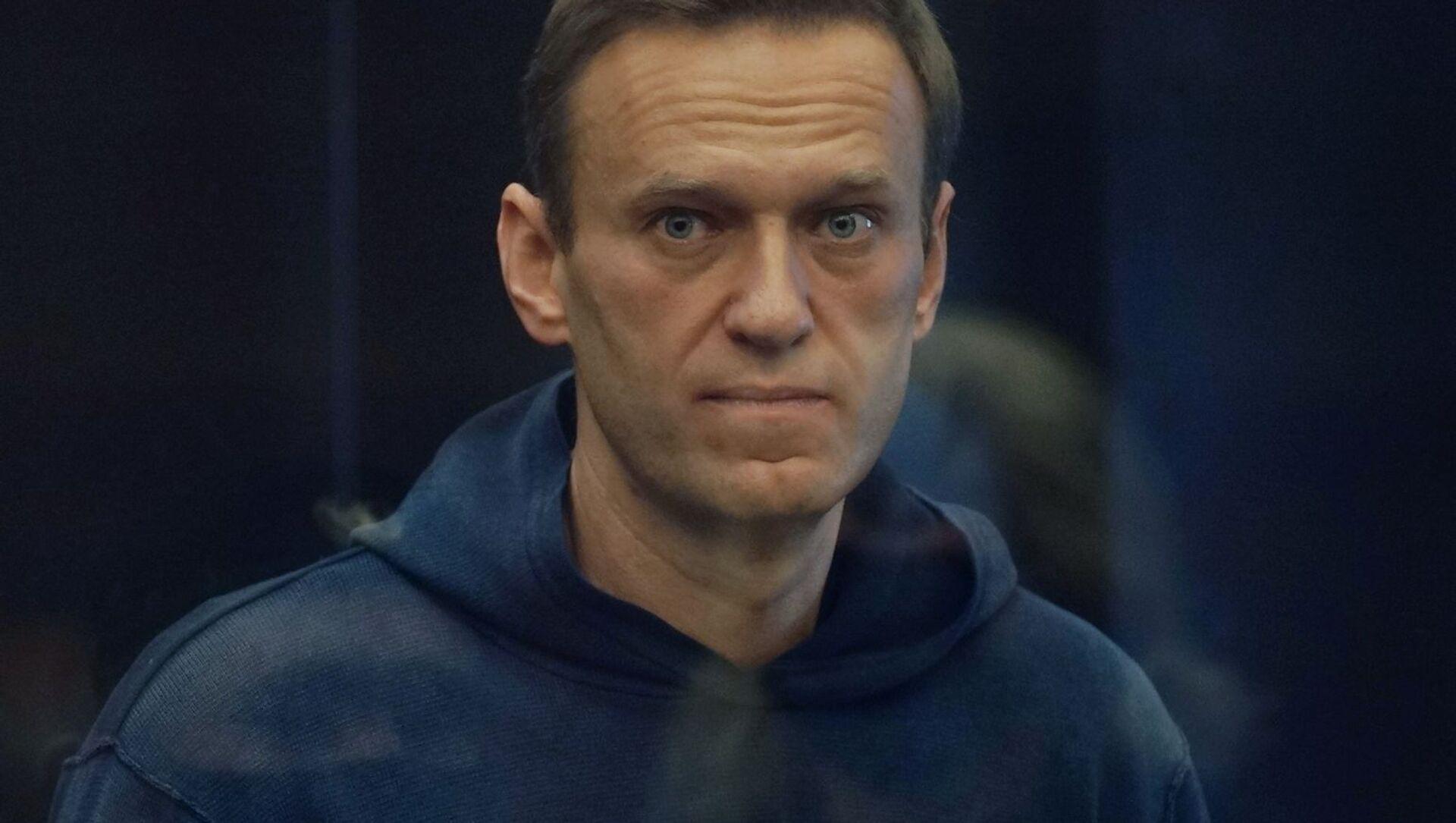 Алексей Навальный на заседании Московского городского суда - Sputnik 日本, 1920, 21.04.2021