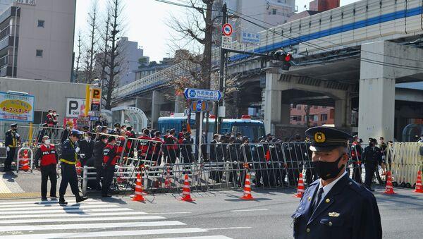 在日ロシア大使館前の抗議活動 - Sputnik 日本