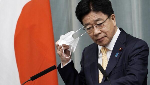 加藤官房長官 - Sputnik 日本