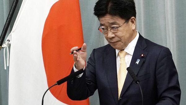 加藤勝信官房長官 - Sputnik 日本