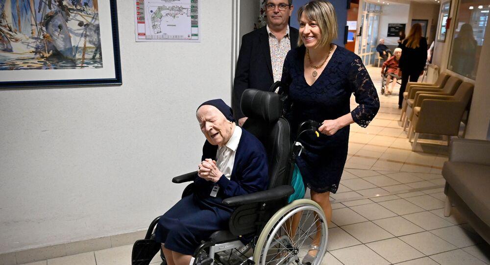 仏及び欧州最高齢の女性