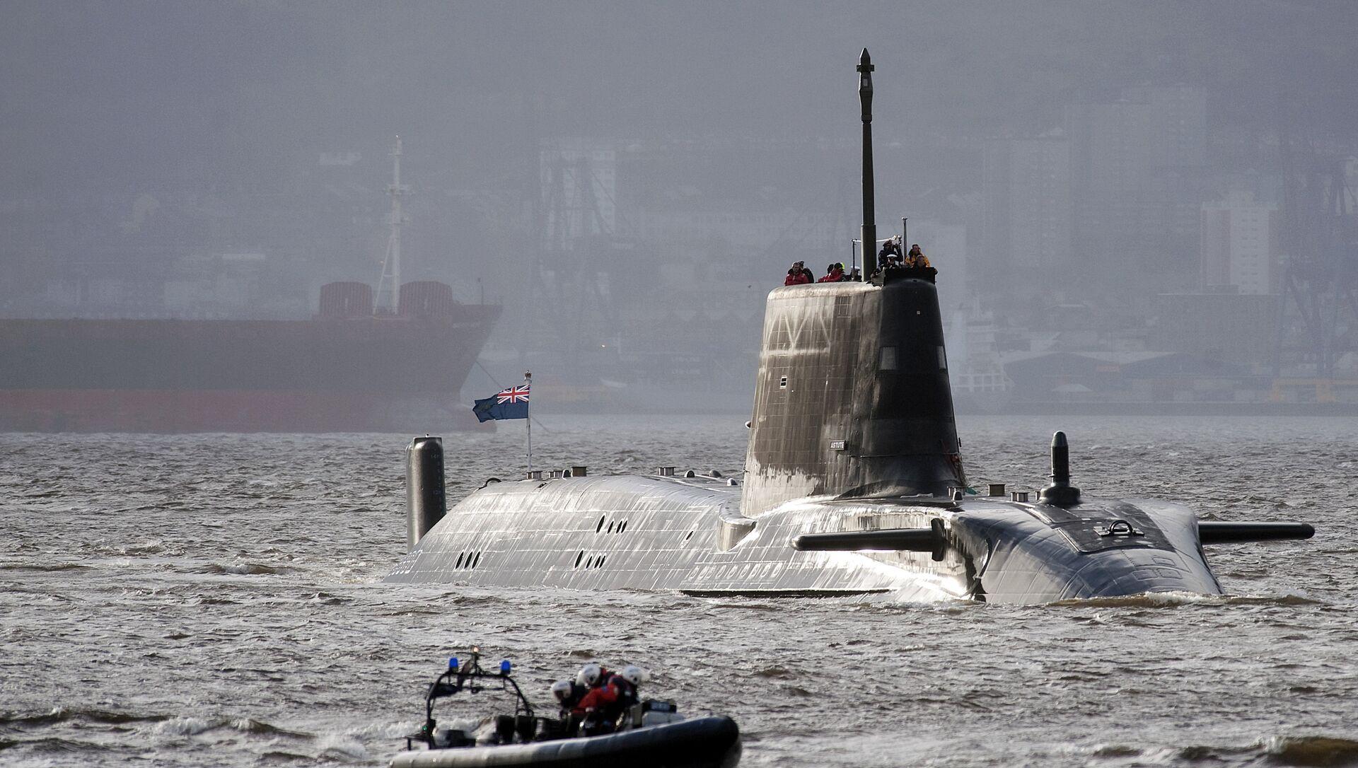 原子力潜水艦 - Sputnik 日本, 1920, 09.02.2021