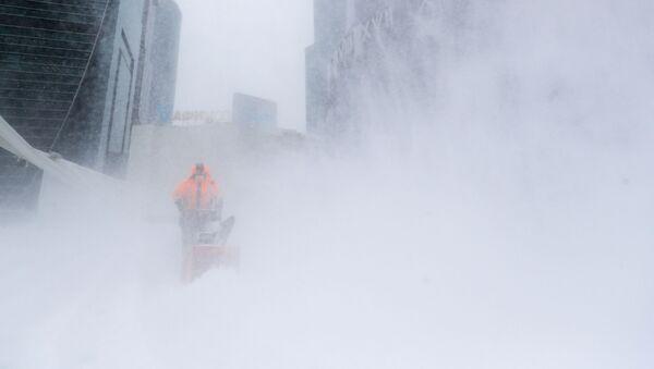 モスクワの記録的な大雪 - Sputnik 日本