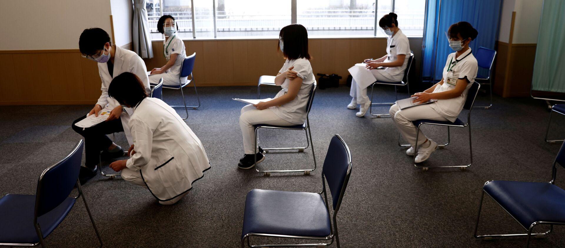 ワクチン接種をする - Sputnik 日本, 1920, 05.07.2021