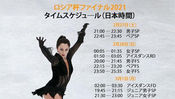 ロシア杯ファイナル2021 タイムスケジュール - Sputnik 日本