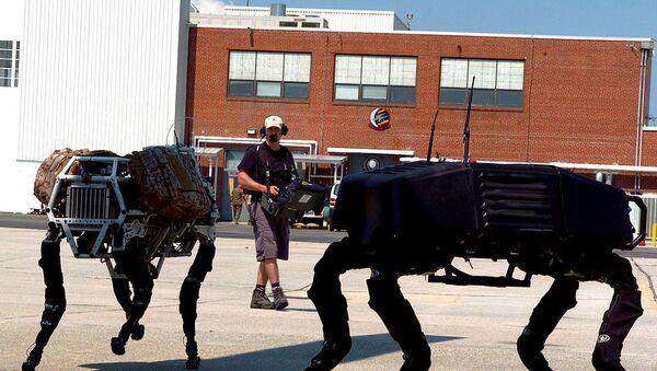 家宅侵入の通報にNY市警 ボストン・ダイナミックスのロボット犬連れて出動 - Sputnik 日本