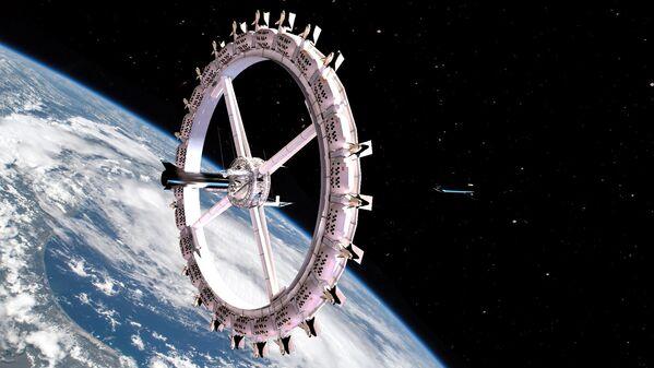 オービタル・アセンブリ社の構想する宇宙ホテル「Voyager Station」の全貌 - Sputnik 日本