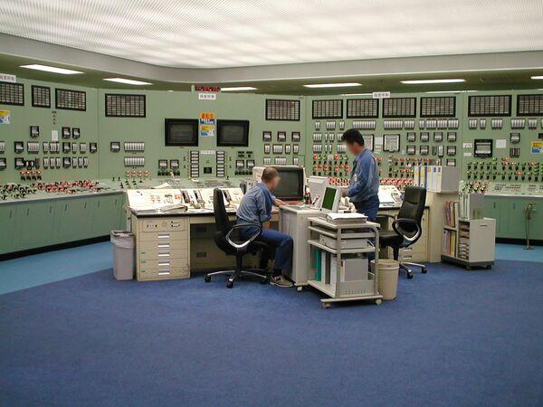福島第一原子力発電所の中央制御室(1999年撮影) - Sputnik 日本