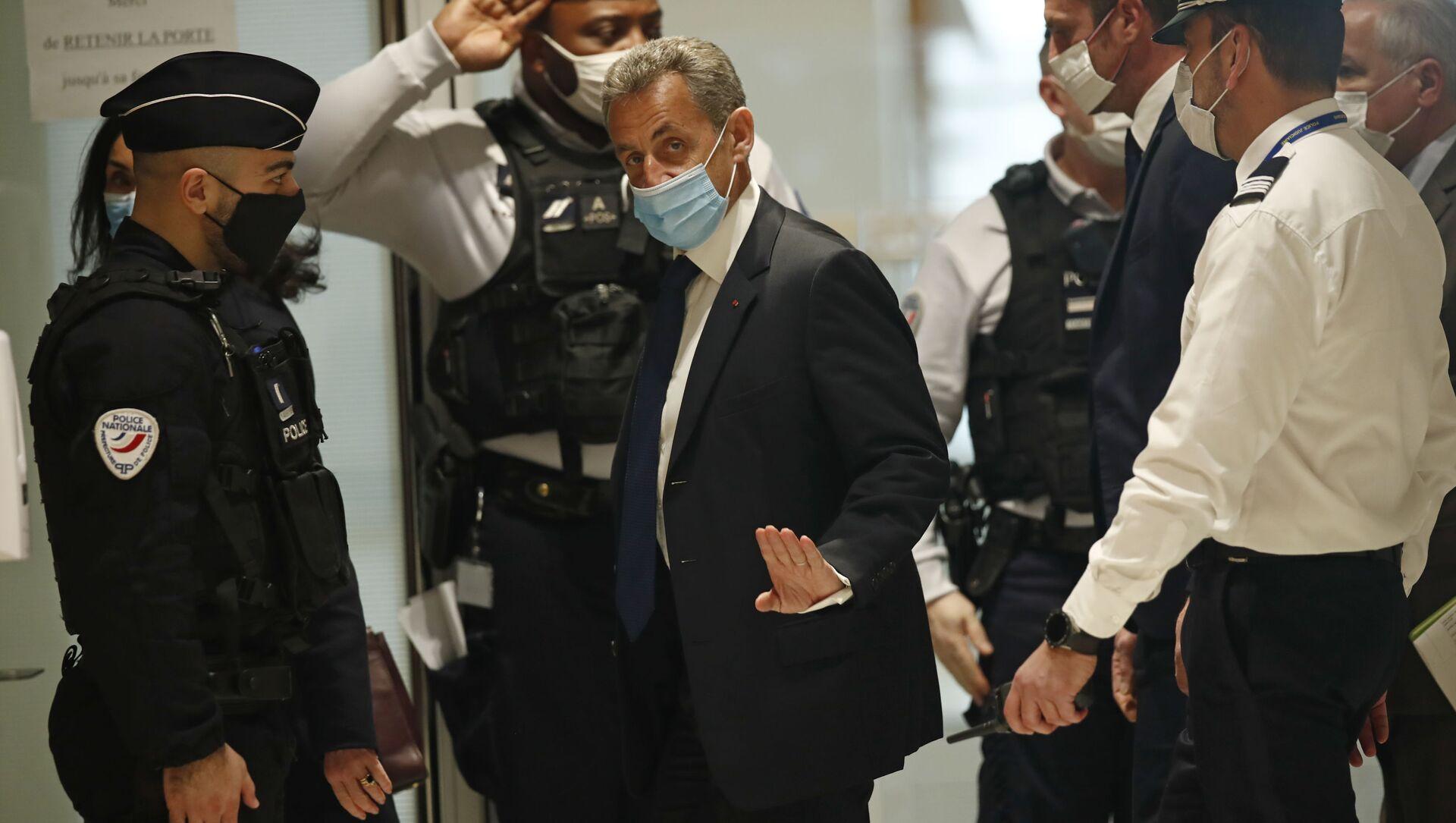 サルコジ元仏大統領に1年の有罪判決 2012年選挙費超過 - Sputnik 日本, 1920, 30.09.2021