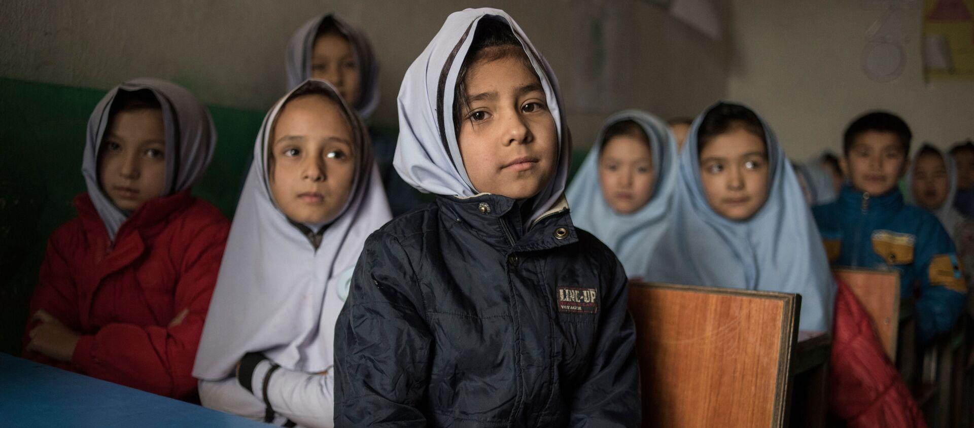 アフガニスタンの女性生徒 - Sputnik 日本, 1920, 14.03.2021