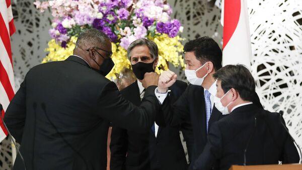 日米安全保障協議委員会(2+2) - Sputnik 日本