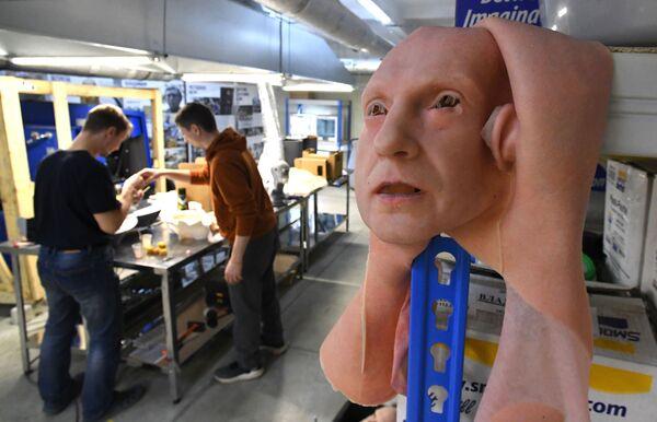 開発研究所で製作された人工皮膚のサンプル - Sputnik 日本