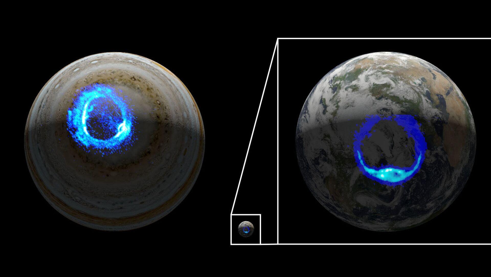 木星ではじめてオーロラの発生を確認【動画】 - Sputnik 日本, 1920, 17.03.2021