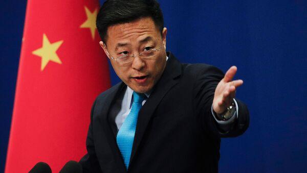 中国外交部の趙立堅報道官 - Sputnik 日本