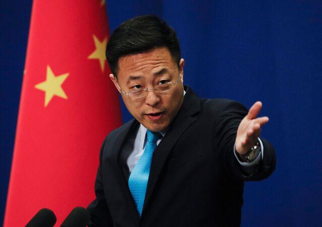 中国外務省の趙立堅報道官