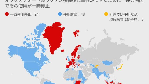 アストラゼネカ社製ワクチンをめぐるスキャンダル すでに接種を中止したのはどの国か? - Sputnik 日本