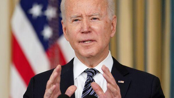 Президент США Джо Байден - Sputnik 日本