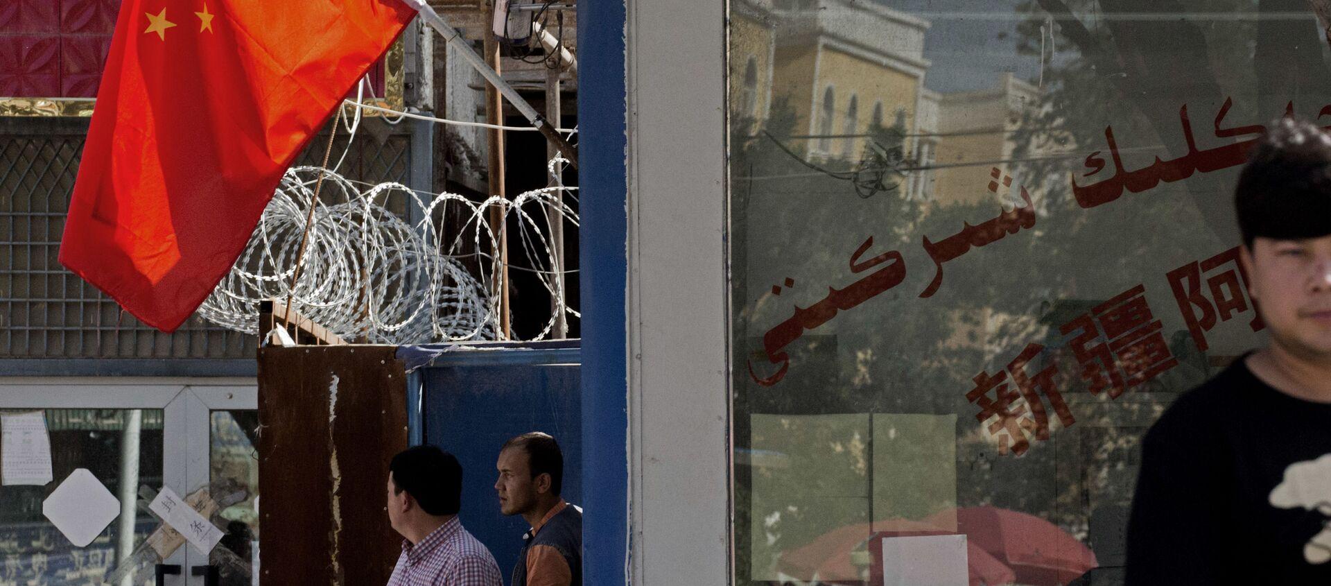 中国人女性が証言 拉致、収監先のドバイにある中国の極秘刑務所にウイグル人らも - Sputnik 日本, 1920, 17.08.2021