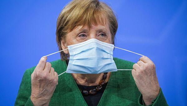 独メルケル首相 アストラゼネカ社製ワクチンの接種を受ける - Sputnik 日本