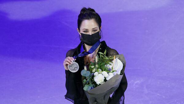 Фигурное катание. Чемпионат мира. Женщины. Церемония награждения - Sputnik 日本