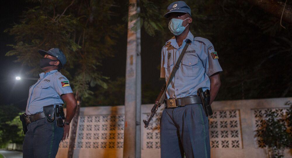 モザンビーク警官