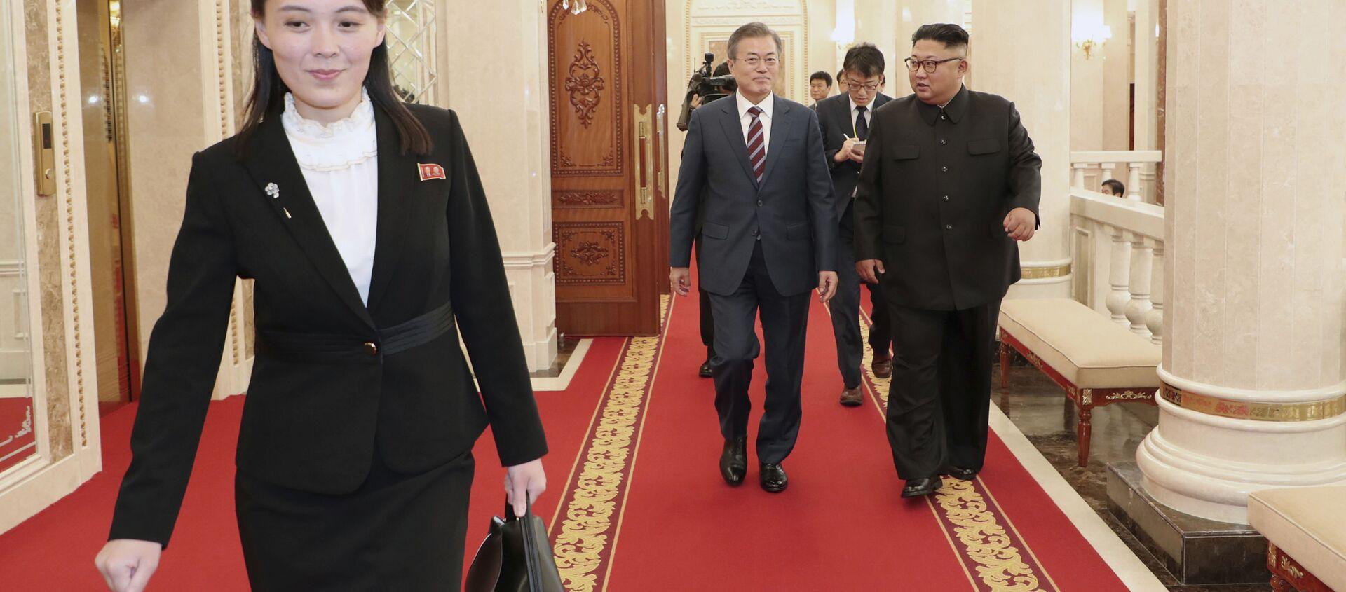 北朝鮮の金与正氏、韓国大統領に反発 ミサイル発射めぐり - Sputnik 日本, 1920, 30.03.2021