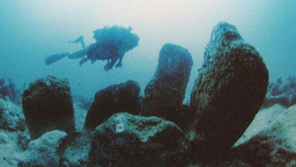 イスラエルの海岸沖に存在した新石器時代の村「アトリットヤム」。 紀元前7000年頃の集落 - Sputnik 日本