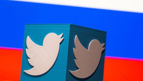Twitterとロシアの旗 - Sputnik 日本