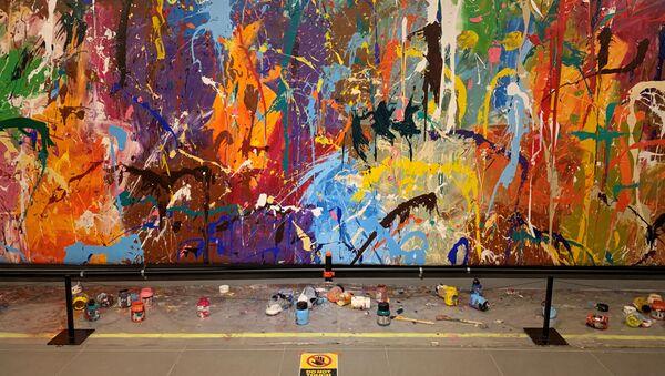 Испорченная работа художника JonOne - Sputnik 日本