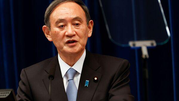 Премьер-министр Японии Есихидэ Суга - Sputnik 日本