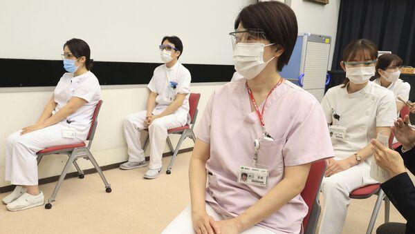 コロナワクチン接種された医療関係者 - Sputnik 日本