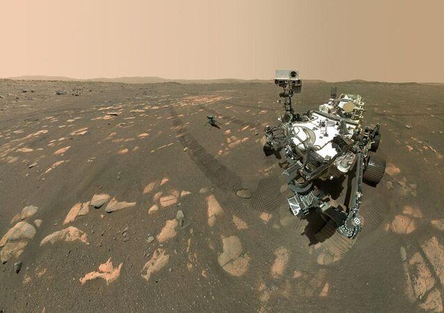 火星探査車パーサヴィアランス