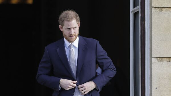 ヘンリー王子、フィリップ殿下葬儀のため帰国 - Sputnik 日本