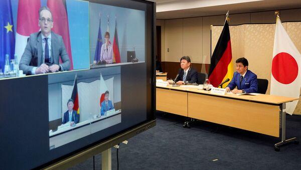 日独外務防衛閣僚会議「2プラス2」 インド太平洋地域における連携など確認 - Sputnik 日本