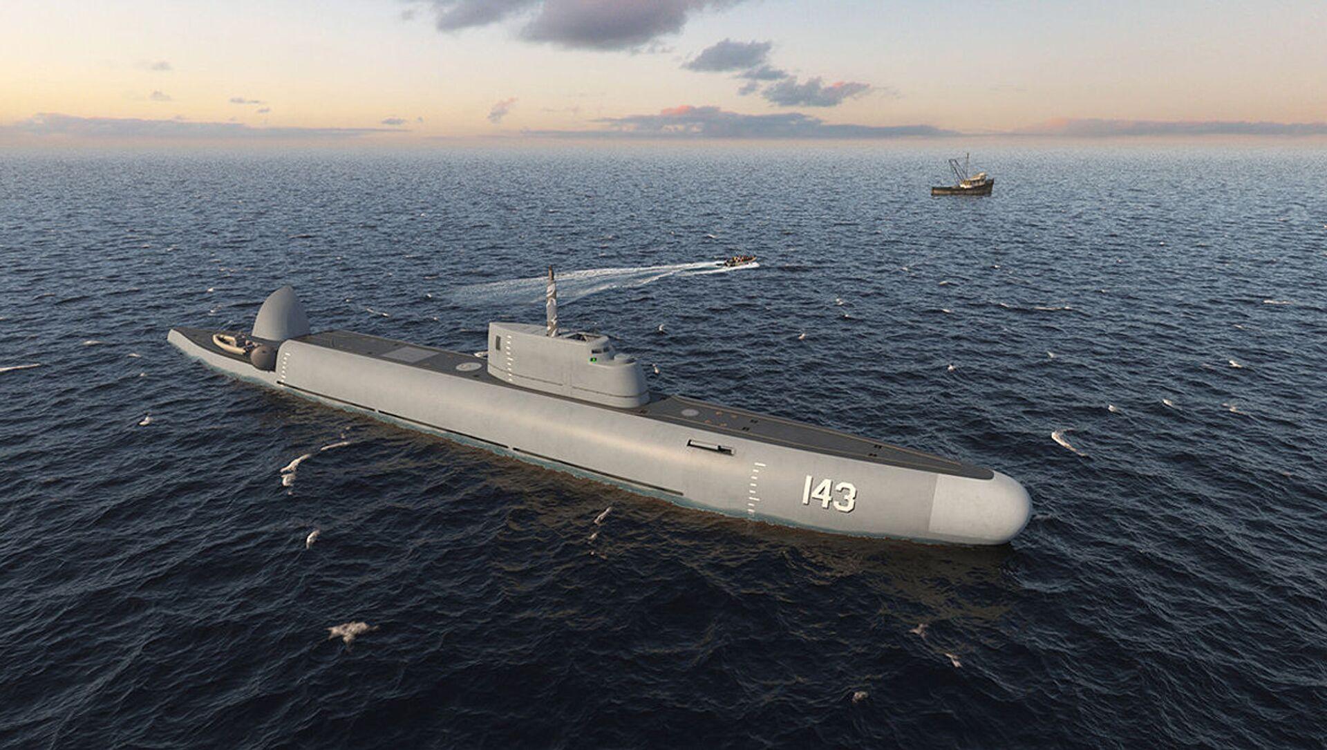 ロシア、潜航哨戒艦の開発を発表 - Sputnik 日本, 1920, 16.04.2021
