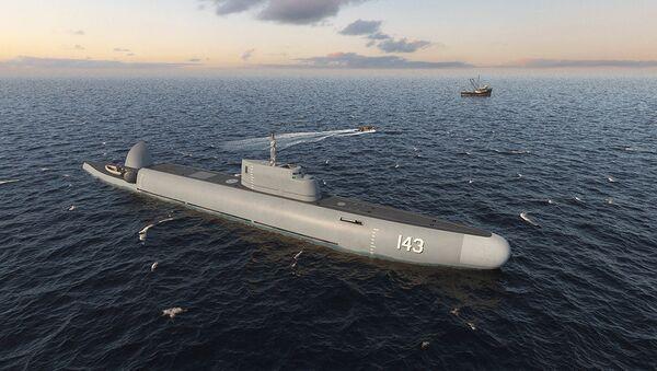ロシア、潜航哨戒艦の開発を発表 - Sputnik 日本