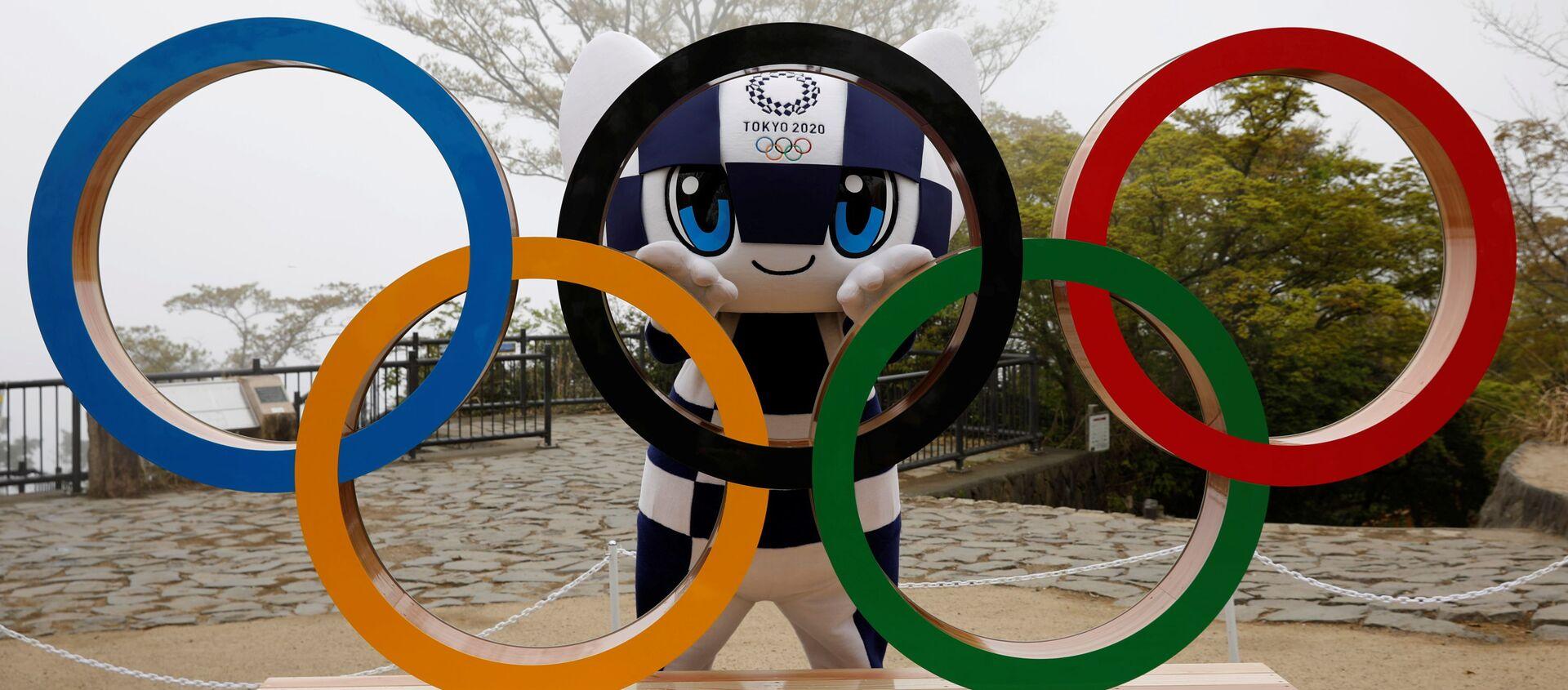 Талисман Олимпийских игр 2020 года в Токио Мирайтова - Sputnik 日本, 1920, 17.05.2021