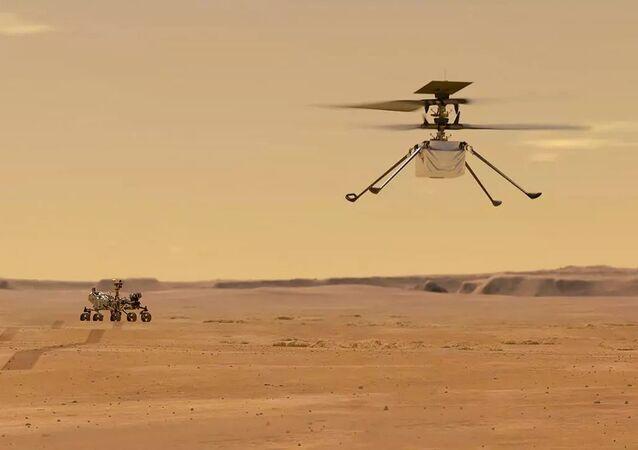 火星ヘリコプター「インジェニュイティ」