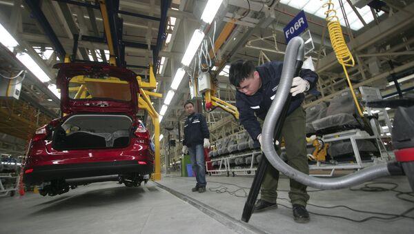 中国の長安汽車工場 - Sputnik 日本
