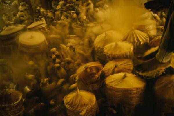 高評価獲得作品『Haldi Festival(ターメリックの祭り)』 Donell Gumiran氏(アラブ首長国連邦) - Sputnik 日本