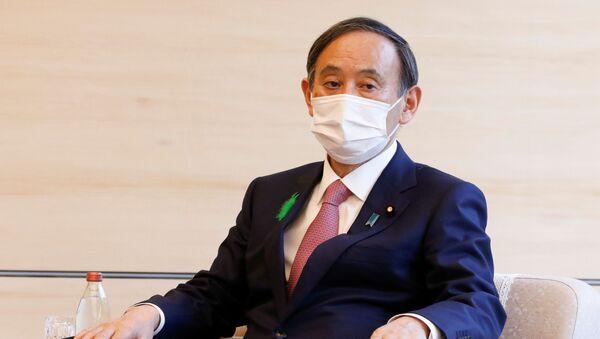 Премьер-министр Японии Ёсихиде Суга  - Sputnik 日本