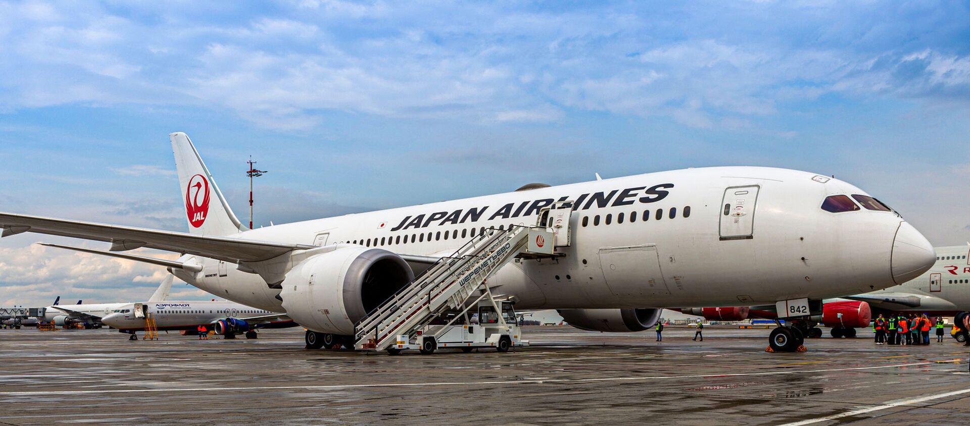 Самолет boeing 787 dreamliner, совершивший первый рейс по маршруту Шереметьево (Москва) – Ханеда (Токио)   - Sputnik 日本, 1920, 29.04.2021