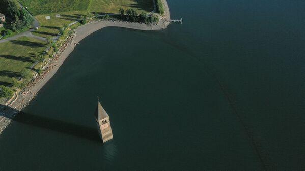 通常時のレジア湖の様子 - Sputnik 日本