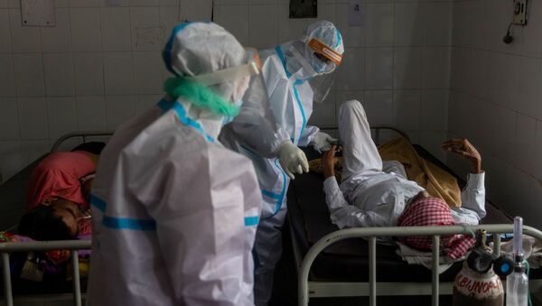 インドの病院  - Sputnik 日本