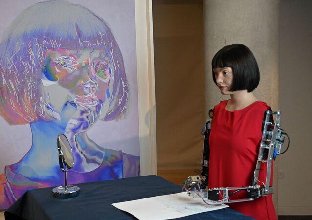 世界初のヒューマノイドアーティスト「Ai-Da」