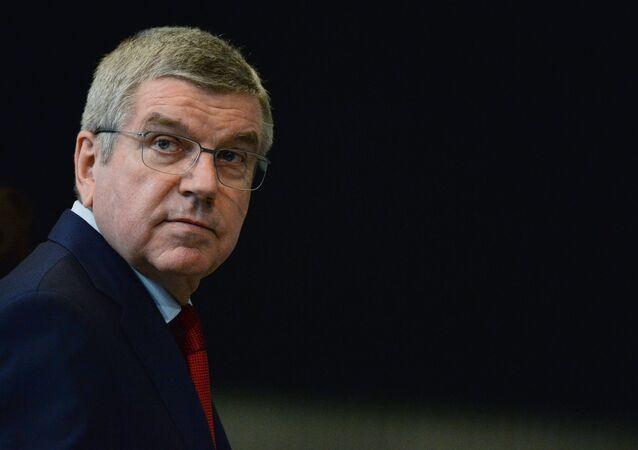 国際オリンピック委員会(IOC)のトーマス・バッハ会長