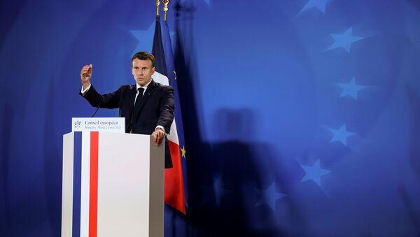 フランスのエマニュエル・マクロン大統領 - Sputnik 日本