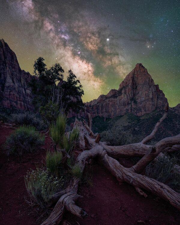 Brandt Ryder氏の作品『The watchman(夜警)』  米ユタ州・ザイオン国立公園で撮影 - Sputnik 日本