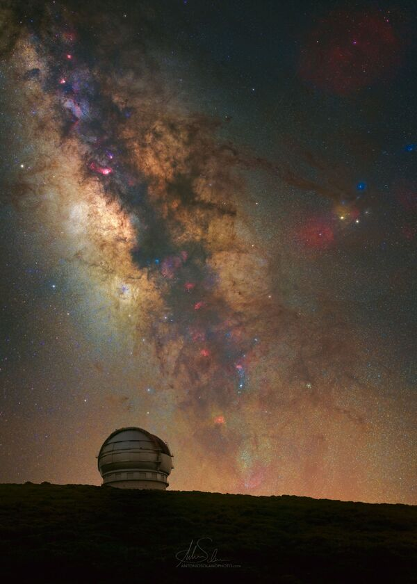Antonio Solano氏の作品『GranTeCan(カナリア大望遠鏡)』  スペイン・カナリア諸島で撮影 - Sputnik 日本