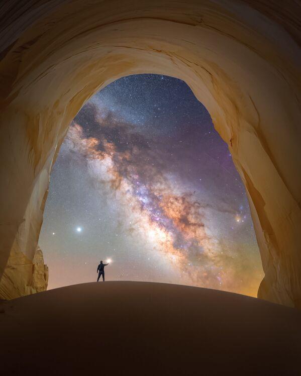 Spencer Welling氏の作品『Chamber of light(光の部屋)』 米ユタ州の国定公園「グランド・ステアーケース=エスカランテ」で撮影 - Sputnik 日本